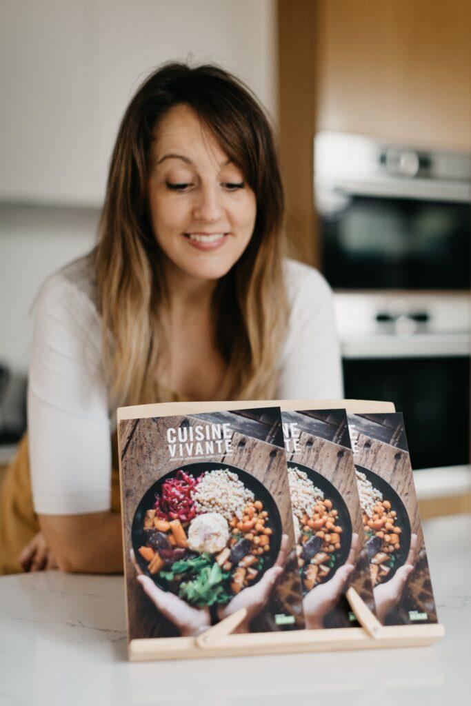 Les livres de Cuisine Vivante