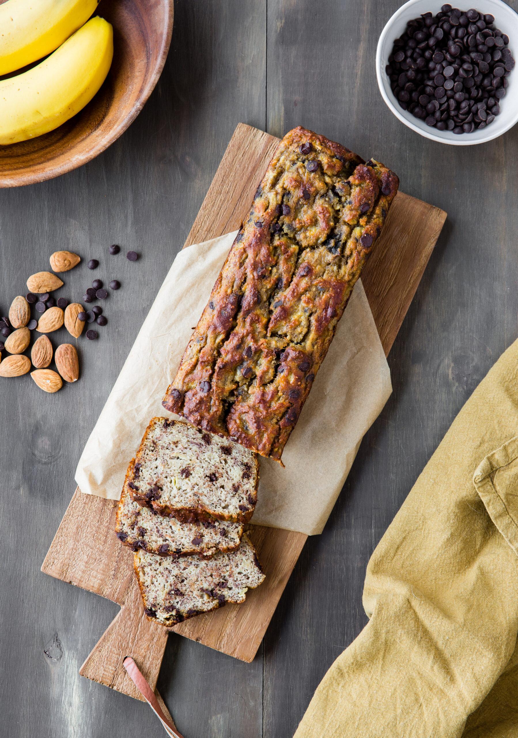 Recette Cuisine Vivante - Banana Bread