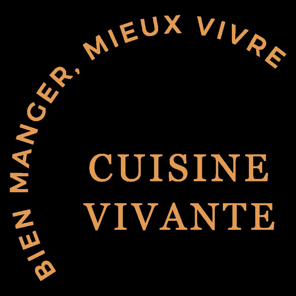 Slogan Cuisine Vivante