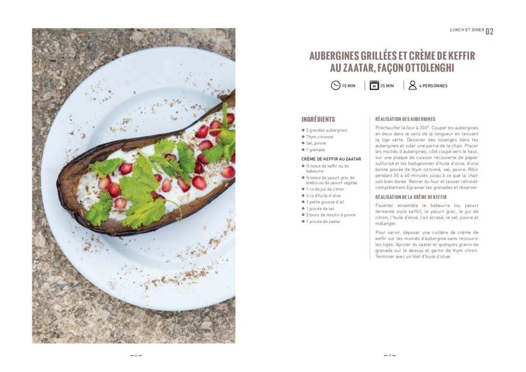 recette aubergines par Cuisine Vivante