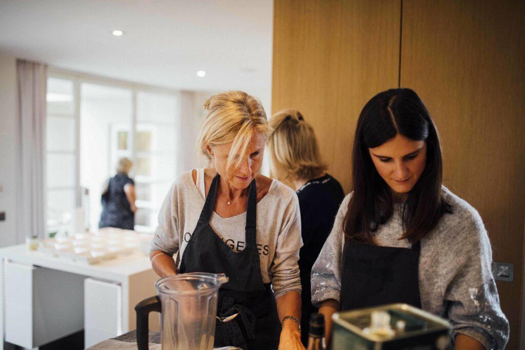 Cours de cuisine en entreprise