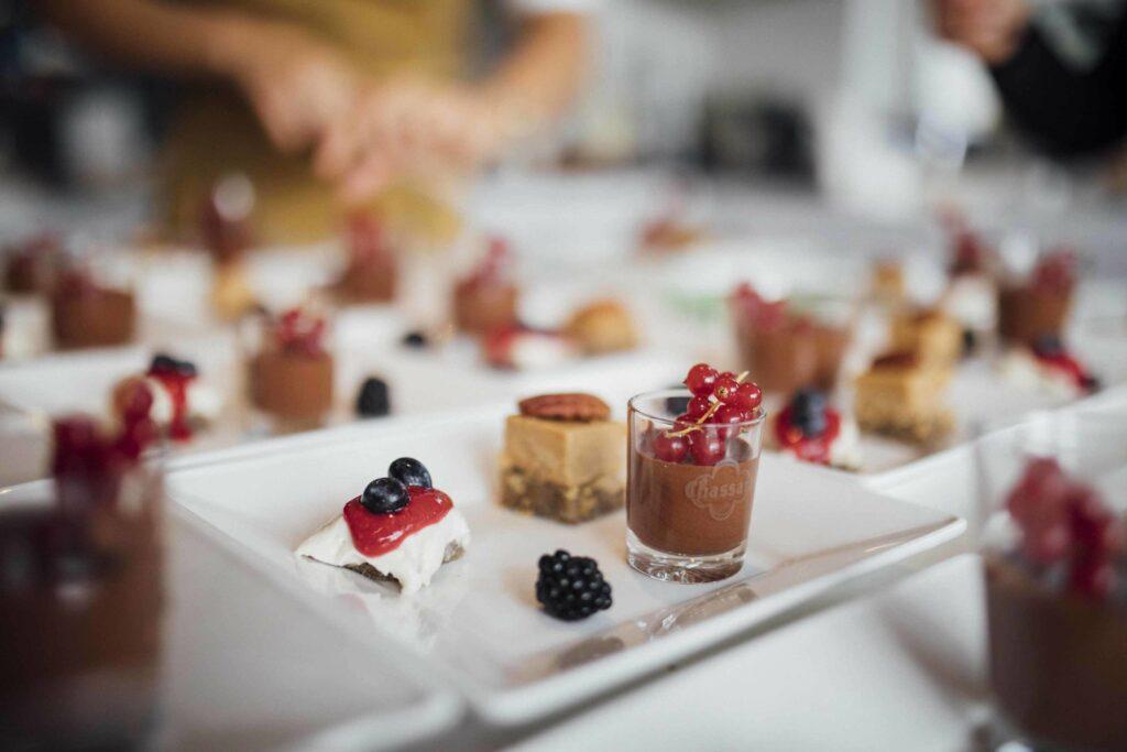 Cours de cuisine en entreprise - les desserts