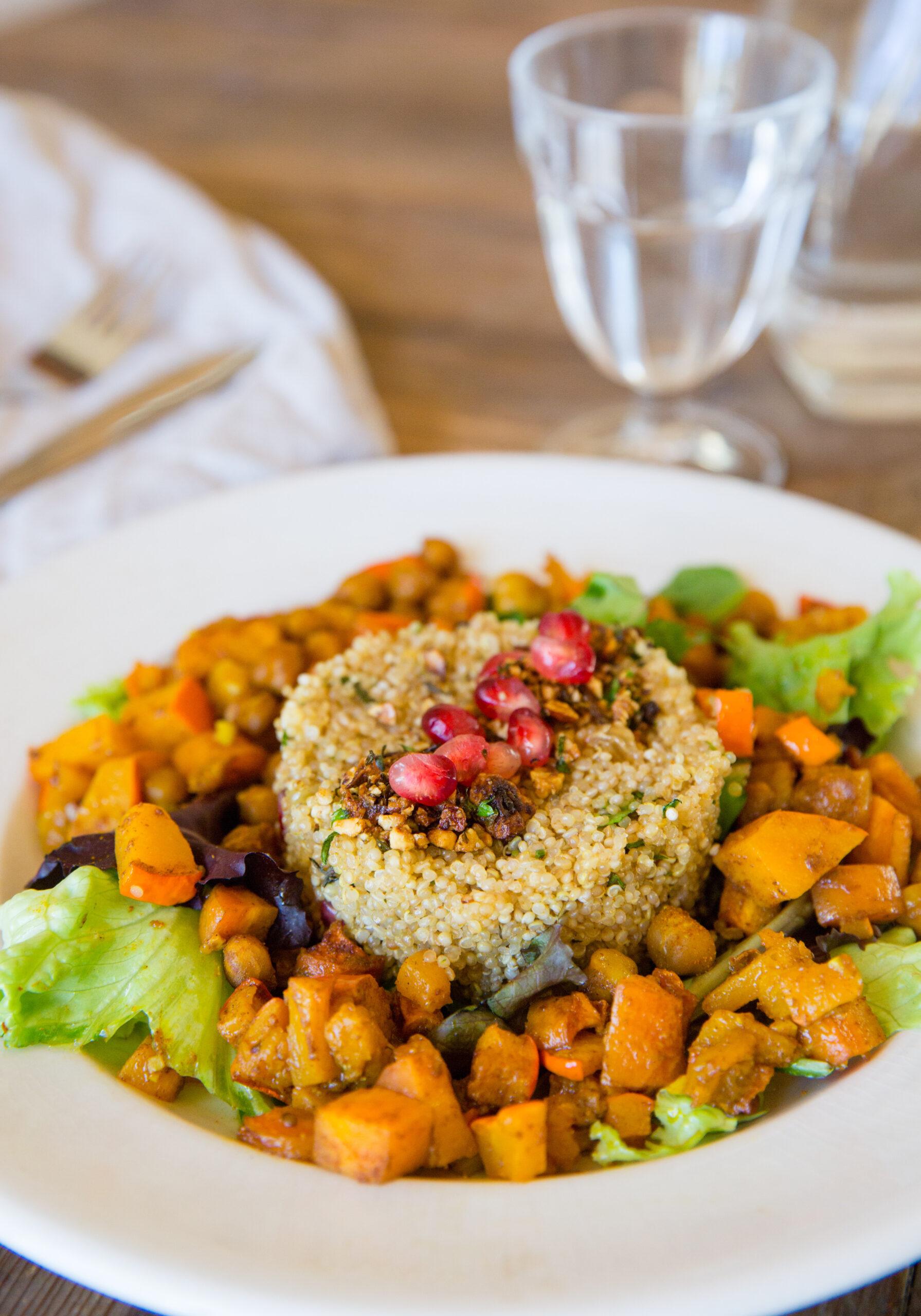 Quinoa à la marocaine